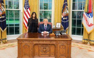 Ο Πρόεδρος των ΗΠΑ συναντήθηκε στο Οβάλ Γραφείο με την διάσημη reality star.