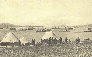 Ο αγγλογαλλικός στόλος στο Μούδρο το 1917-18. Γιατί ο Α΄ Παγκόσμιος, το Μακεδονικό Μέτωπο, ο Εθνικός Διχασμός «ξεχάστηκαν» μέσα στον χρόνο από τους Ελληνες; Ενδιαφέρουσα σφυγμομέτρηση στο διεθνές συνέδριο «Το Μακεδονικό Μέτωπο 1915-1918: Πολιτική, κοινωνία και πολιτισμός σε καιρό πολέμου».