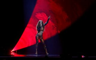Cyprus's Eleni Foureira performs