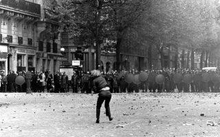 Ο Μάης του '68 ήταν μια ασυνήθιστη εξέγερση, καρναβαλική, γι' αυτό, με συμβατικούς όρους, ακατάληπτη.