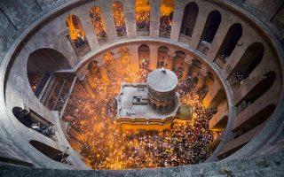 Η έκθεση προβάλλει το έργο αποκατάστασης του παγκόσμιου μνημείου-συμβόλου της χριστιανοσύνης από έγκριτη διεπιστημονική ομάδα του ΕΜΠ.