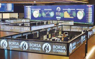 Ο βασικός δείκτης του Χρηματιστηρίου της Κωνσταντινούπολης, Borsa Instanbul 100, έχει σημειώσει απώλειες 13% τους τελευταίους 12 μήνες.