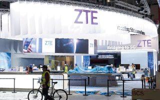 Η ZTE παραβίασε τη νομοθεσία των ΗΠΑ που απαγόρευε τις εξαγωγές στο Ιράν. Μετά τα τελευταία εις βάρος της αυστηρά μέτρα, σκέπτεται να απευθυνθεί στην ταϊβανέζικη Μediatek, για να καλύψει τις τεχνολογικές της ανάγκες.
