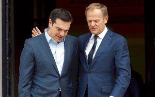 Ο κ. Αλ. Τσίπρας υπογράμμισε, στην τηλεφωνική επικοινωνία που είχε με τον Ντόναλντ Τουσκ, ότι η Ελλάδα θα διαδραματίζει «πάντοτε» εποικοδομητικό ρόλο στα Βαλκάνια.