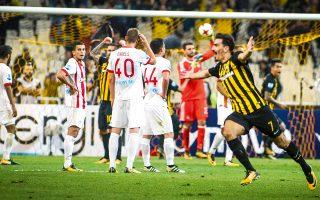 Στην 5η αγωνιστική της Σούπερ Λίγκας ο Χριστοδουλόπουλος ήταν ο πρωταγωνιστής της ΑΕΚ στην ανατροπή απέναντι στον Ολυμπιακό με 3-2.