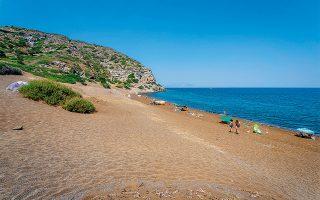 Η Παχειά Άμμος. (Φωτογραφία: Shutterstock)