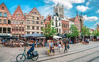 Η μεσαιωνική αύρα της Γάνδης είναι από τα πιο γοητευτικά στοιχεία της. (Φωτογραφία:© Shutterstock)