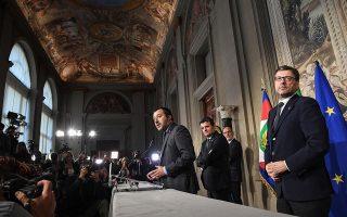 H σφραγίδα του Ματέο Σαλβίνι και της Λέγκας του Βορρά στο πρόγραμμα είναι εντονότερη, αφού το Κίνημα των 5 Αστέρων δεν είχε έως τώρα κυβερνητική εμπειρία.