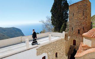 Tο μοναστήρι του Αγίου Παντελεήμονα (Φωτογραφία: © ΒΑΓΓΕΛΗΣ ΖΑΒΟΣ)