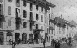 Το θέατρο Carcano στο Μιλάνο, όπου ο Π. Καρρέρ έκανε τα πρώτα βήματα.