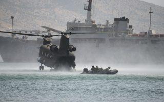 Στη Νέα Πέραμο, παρουσία του υπουργού Εθν. Αμυνας, πραγματοποιήθηκε η πολυεθνική άσκηση ειδικών επιχειρήσεων «Salamis Storm 2018».