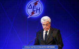Ο κ. Παναγιωτάκης αναφέρθηκε και στο νέο στρατηγικό επιχειρησιακό σχέδιο της ΔΕΗ, προαγγέλλοντας επενδύσεις ύψους 1,3 δισ. ευρώ στον τομέα των AΠE με στόχο τον δεκαπενταπλασιασμό της εγκατεστημένης ισχύος.
