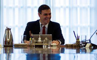 Η πρώτη συνεδρίαση του υπουργικού συμβουλίου υπό τον Πέδρο Σάντσεθ πραγματοποιήθηκε χθες στη Μαδρίτη.