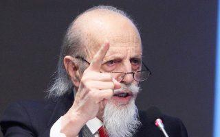 Ο καθηγητής του Εθνικού Μετσόβιου Πολυτεχνείου Θεοδόσης Τάσιος εμφανίζεται προβληματισμένος για το μέλλον.