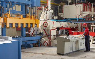 H περαιτέρω ενίσχυση της παραγωγικής δυναμικότητας της Aluminco είναι βασική προτεραιότητα της διοίκησης.