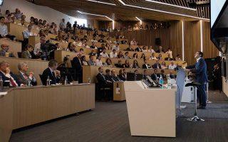 Ο Αλέξης Τσίπρας μίλησε χθες στο London Business School.