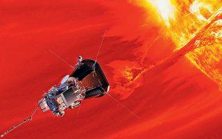 Το Parker Solar Probe (PSP) θα επισκεφθεί σε μερικές εβδομάδες τον Ηλιο σε απόσταση επτά φορές πλησιέστερα από οποιαδήποτε άλλη διαστημοσυσκευή.