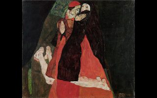«Καρδινάλιος και Μοναχή», 1912