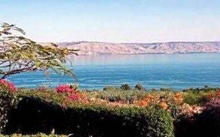 Νερό που έχει αφαλατωθεί θα χρησιμοποιηθεί για να ανεβεί η στάθμη της Γαλιλαίας, της λίμνης την οποία φέρεται ότι περπάτησε ο Ιησούς.