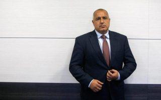 Ο πρωθυπουργός της Βουλγαρίας κ. Μπόικο Μπορίσοφ.