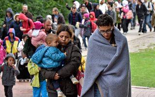 Σεπτέμβριος 2015, κεντρικός σταθμός Ντόρτμουντ. Πρόσφυγες καταφθάνουν στη Γερμανία.