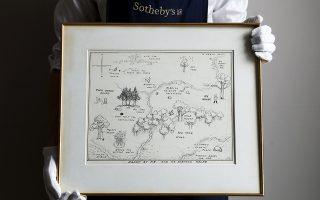 Ο χάρτης του δάσους όπου ζούσε ο Winnie the Pooh και η παρέα του αναμένεται να δημοπρατηθεί έναντι 150.000 στερλινών, μαζί με άλλα έργα του Σέπαρντ.