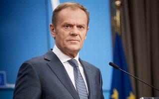«Οι διατλαντικές σχέσεις βρίσκονται υπό πίεση εξαιτίας της πολιτικής του προέδρου Τραμπ», αναφέρει ο Ντόναλντ Τουσκ, επικεφαλής του Ευρωπαϊκού Συμβουλίου.