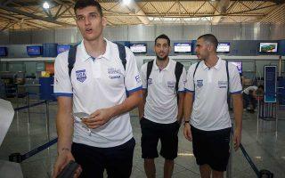 Η ελληνική αποστολή θα αντιμετωπίσει αύριο στο Τελ Αβίβ το Ισραήλ.