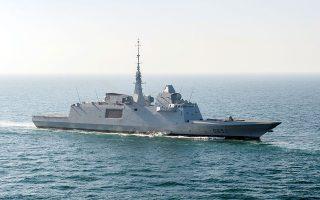 H γαλλική Naval Group είναι η κατασκευάστρια των φρεγατών Frégate Européenne Multi-Mission (FREMM).