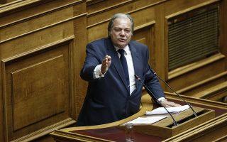 Ο βουλευτής των ΑΝ.ΕΛ Κωνσταντίνος Κατσίκης μιλάει στη συζήτηση επί της πρότασης δυσπιστίας της ΝΔ κατά της Κυβέρνησης στην Ολομέλεια της Βουλής, Αθήνα, Παρασκευή 15 Ιουνίου 2018. , Αθήνα, Τρίτη 8 Μαΐου 2018.  ΑΠΕ-ΜΠΕ/ΑΠΕ-ΜΠΕ/ΓΙΑΝΝΗΣ ΚΟΛΕΣΙΔΗΣ