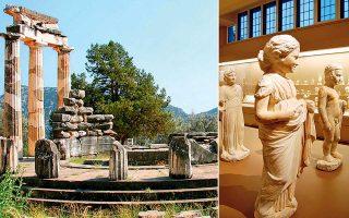 Δελφοί και Μουσείο Βραυρώνας. Ο πολιτισμός και η κληρονομιά αποτελούν πολύτιμο οικονομικό και κοινωνικό κεφάλαιο.