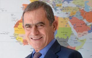 Ο διευθύνων σύμβουλος της SABO ΑΒΕΕ Δημήτρης Κοίλιαρης.