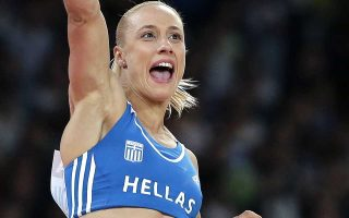 Χάλκινο μετάλλιο κατέκτησε η Κυριακοπούλου στο επί κοντώ.