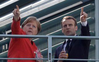 Οσοι προσδοκούν «οφέλη» για την Ελλάδα μάλλον θα διαψευσθούν. Η ιταλική κρίση ενισχύει την καχυποψία του Βερολίνου απέναντι στον «σπάταλο» Νότο, απομακρύνοντας την Αγκελα Μέρκελ από τις θέσεις του Εμανουέλ Μακρόν.