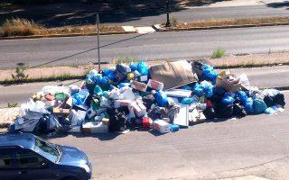 Τραγική η κατάσταση με τα σκουπίδια εδώ και ένα μήνα στην Κέρκυρα.