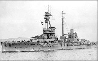 Το θωρηκτό τύπου Dreadnought «Σουλτάνος Οσμάν Α΄», ως «HMS Agincourt», που δεν έφτασε ποτέ στην Κωνσταντινούπολη, αφού επιτάχθηκε από το Βασιλικό Ναυτικό της Βρετανίας.