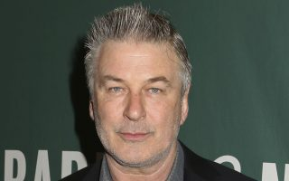 FILE - In this Tuesday, April 4, 2017 file photo, actor and author Alec Baldwin appears at Barnes & Noble Union Square to sign copies of his new book,