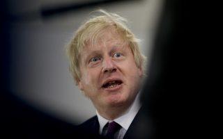 British Foreign Secretary Boris Johnson gives a press conference in Buenos Aires, Argentina, Tuesday, May 22, 2018.(AP Photo/Natacha Pisarenko)