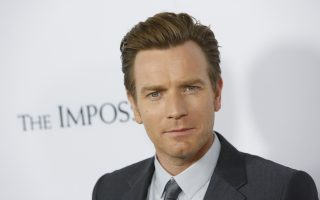 Actor Ewan McGregor arrives at the premiere of the movie