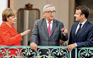 Σε μία έκτακτη σύνοδο με αντικείμενο τον καθορισμό κοινής πολιτικής στο προσφυγικό - μεταναστευτικό, ο πρόεδρος της Ευρωπαϊκής Επιτροπής Ζαν-Κλοντ Γιούνκερ θα υποδεχθεί μεταξύ άλλων ηγετών τη Γερμανίδα καγκελάριο Αγκελα Μέρκελ και τον Γάλλο πρόεδρο Εμανουέλ Μακρόν.