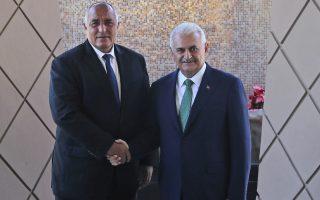 Φωτογραφία: Στη συνάντησή του με τον Βούλγαρο πρωθυπουργό, Μπόικο Μπορίσοφ