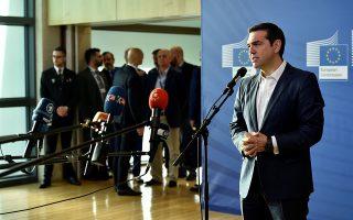 Ο κ. Τσίπρας κατά τη μίνι σύνοδο της περασμένης Κυριακής πρότεινε, μεταξύ άλλων, την αναθεώρηση του ευρωπαϊκού συστήματος ασύλου, με δίκαιη κατανομή των βαρών φιλοξενίας.