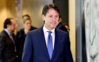 Italian Prime Minister Giuseppe Conte arrives to take part in an emergency European Union leaders summit on immigration, in Brussels, Belgium June 24, 2018.  REUTERS/Eric Vidal