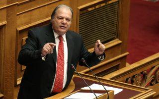 Ο βουλευτής των ΑΝΕΛ Κώστας Κατσίκης μιλάει στην Ολομέλεια της Βουλής στη συζήτηση επί της προτάσεως που κατέθεσαν ο αρχηγός της Αξιωματικής Αντιπολίτευσης και πρόεδρος της ΝΔ Κυριάκος Μητσοτάκης και οι βουλευτές του κόμματός του, για σύσταση Εξεταστικής Επιτροπής, σχετικά με τη διερεύνηση της εμπλοκής του Υπουργού Εθνικής Άμυνας Πάνου Καμμένου και άλλων στελεχών και λειτουργών σε εκκρεμή δικαστική υπόθεση, τη Δευτέρα 25 Σεπτεμβρίου 2017. ΑΠΕ-ΜΠΕ/ΑΠΕ-ΜΠΕ/ΣΥΜΕΛΑ ΠΑΝΤΖΑΡΤΖΗ