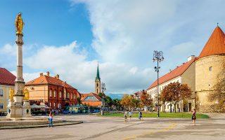 Η πλατεία King Tomislav. (Φωτογραφία: © VISUALHELLAS.GR)