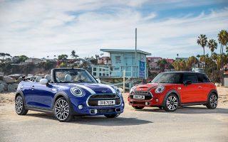 Πλούσια γκάμα κινητήρων και άκρως αποδοτικά μοτέρ στα νέα μοντέλα Mini Cooper, τα οποία ξεχωρίζουν έτσι κι αλλιώς με την εμφάνισή τους.