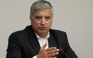 Ο δήμαρχος Αμαρουσίου και πρόεδρος της  Κεντρικής Ένωσης Δήμων Έλλάδος (ΚΕΔΕ), Γιώργος Πατούλης συμμετέχei σε συνέντευξη Τύπου της επιτροπής αγώνα για την Ελληνικότητα της Μακεδονίας (για το ζήτημα της ονομασίας των Σκοπίων), που με πρωτοβουλία της διοργανώθηκαν τα συλλαλητήρια της 21ης  Ιανουαρίου στην Θεσσαλονίκη και της 4ης φεβρουαρίου 2018 στην Αθήνα στην πλατεία Συντάγματος, στην ΕΣΗΕΑ, Πέμπτη 31 Μαϊου 2018. ΑΠΕ-ΜΠΕ/ΑΠΕ-ΜΠΕ/ΣΥΜΕΛΑ ΠΑΝΤΖΑΡΤΖΗ