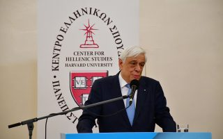 Ο Πρόεδρος της Δημοκρατίας Προκόπης Παυλόπουλος μιλάει στην αίθουσα της πρώτης Βουλής των Ελλήνων, το  Βουλευτικό, στο Ναύπλιο, την Παρασκευή 8 Ιουνίου 2018. Ο Πρόεδρος της Δημοκρατίας επισκέφτηκε την πρώτη Βουλή των Ελλήνων το Βουλευτικό, όπου το Κέντρο Ελληνικών Σπουδών Ελλάδος του Πανεπιστήμιο Harvard, στο πλαίσιο του εορτασμού των 10 ετών από την έναρξη της επίσημης λειτουργίας του στο Ναύπλιο, οργάνωσε  εκδήλωση με προσκεκλημένο ομιλητή την Α.Ε. τον Πρόεδρο της Δημοκρατίας  Προκόπιο Παυλόπουλο, με θέμα: «Η κρίση του κανόνα δικαίου ως κρίση δημοκρατικής νομιμοποίησης της Ηγεσίας». Η ομιλία εντάσσεται και ολοκληρώνει τον εφετινό κύκλο της σειράς εκδηλώσεων Events Series 2018 του ΚΕΣ με θέμα «Ηγεσία και Ανθρωπιστικές Αξίες». Η εκδήλωση πραγματοποιήθηκε με την υποστήριξη του Δήμου Ναυπλιέων. ΑΠΕ-ΜΠΕ/ΑΠΕ-ΜΠΕ/ΜΠΟΥΓΙΩΤΗΣ ΕΥΑΓΓΕΛΟΣ