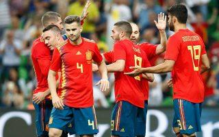 Φωτογραφία: Selección Española de Fútbol/Facebook