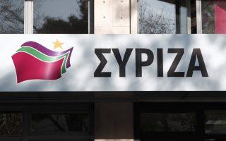 Ταμπέλα με το νέο τίτλο του κόμματος και το νέο έμβλημα βρίσκεται τοποθετημένη στα κεντρικά γραφεία του κόμματος στην πλατεία Κουμουνδούρου, Αθήνα, Δευτέρα 30 Δεκεμβρίου 2013. Αλλάζει από 1-1-2014 ο τίτλος του κόμματος από ΣΥΡΙΖΑ-Ενωτικό Κοινωνικό μέτωπο σε Συνασπισμό Ριζοσπαστικής Αριστεράς με έμβλημα του κόμματος ένα πεντάκτινο κίτρινο αστέρι πίσω από τρεις κυματίζουσες σημαίες χρώματος – κατά σειρά- κόκκινο, πράσινο και μοβ. ΑΠΕ-ΜΠΕ/ΑΠΕ-ΜΠΕ/ΑΛΚΗΣ ΚΩΝΣΤΑΝΤΙΝΙΔΗΣ